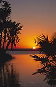 Sunrise, The Esturary, San Jose, Baja California, Mexico<br />