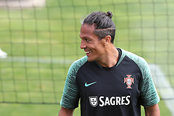 May 30, 2018 - Oeiras, Portugal - Portugal's defender Bruno Alves during a training session at Cidade do Futebol (Football City) training camp in Oeiras, outskirts of Lisbon, on May 30, 2018, ahead of the FIFA World Cup Russia 2018 preparation matches against Belgium and Algeria...........during the Portuguese League football match Sporting CP vs Vitoria Guimaraes at Alvadade stadium in Lisbon on March 5, 2017. Photo: Pedro Fiuzaduring the Portugal Cup Final football match CD Aves vs Sporting CP at the Jamor stadium in Oeiras, outskirts of Lisbon, on May 20, 2015. (Credit Image: © Pedro Fiuza via ZUMA Wire)