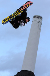 29.10.2011, Battersea Power Station, London GBR, FIS Snowboard Worldcup, Relentless Freeze Festival, im Bild Winner Janne Kopri of Finland// during FIS Snowboard Worldcup at Relentless Freeze Festival in London, United Kingdom on 29/10/2011. EXPA Pictures © 2011, PhotoCredit: EXPA/ TNT Sports/ Nick Tapsell +++++ ATTENTION - OUT OF ENGLAND/GBR +++++