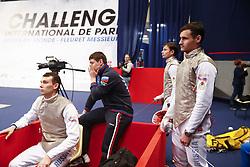 January 13, 2019 - Paris, France - Quarts de finale - Timur Arslanov / Alexey Cheremisinov / Timur Safin / Dmitry Zherebchenko  (Credit Image: © Panoramic via ZUMA Press)