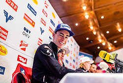 22.02.2019, Seefeld, AUT, FIS Weltmeisterschaften Ski Nordisch, Seefeld 2019, Skisprung, Herren, Pressekonferenz, im Bild Stefan Kraft (AUT) // Stefan Kraft of Austria during a press conference of ski jumping team of the FIS Nordic Ski World Championships 2019. Seefeld, Austria on 2019/02/22. EXPA Pictures © 2019, PhotoCredit: EXPA/ JFK