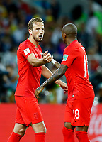 Harry Kane celebration penalty 1-0<br /> Moscow 03-07-2018 Football FIFA World Cup Russia 2018 <br /> Colombia - England / Colombia - Inghilterra<br /> Foto Matteo Ciambelli/Insidefoto