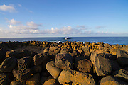 Heiau, South Point, Southernmost point in the United States, Island of Hawaii
