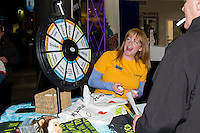 KELOWNA, CANADA - MARCH 25: Wildplay adventure park hosts a game in the lobby on March 25, 2016 at Prospera Place in Kelowna, British Columbia, Canada.  (Photo by Marissa Baecker/Shoot the Breeze)  *** Local Caption *** POP; WildPlay Adventure;