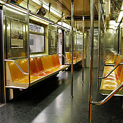 USA/New Yok/20120301 - New York, metro binnenzijde