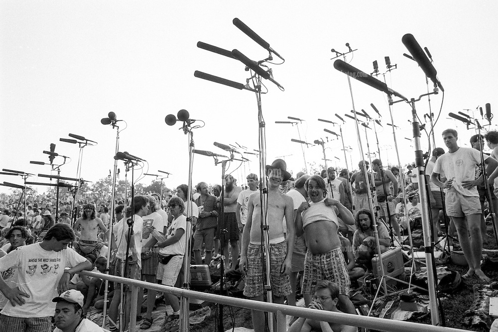 The Taping Section Scene from The Grateful Dead Concert at Pine Knob Music Theatre, Clarkston, MI on 19 June 1991