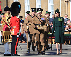 Irish Guards St Patrick's Day parade - 17 Mar 2019