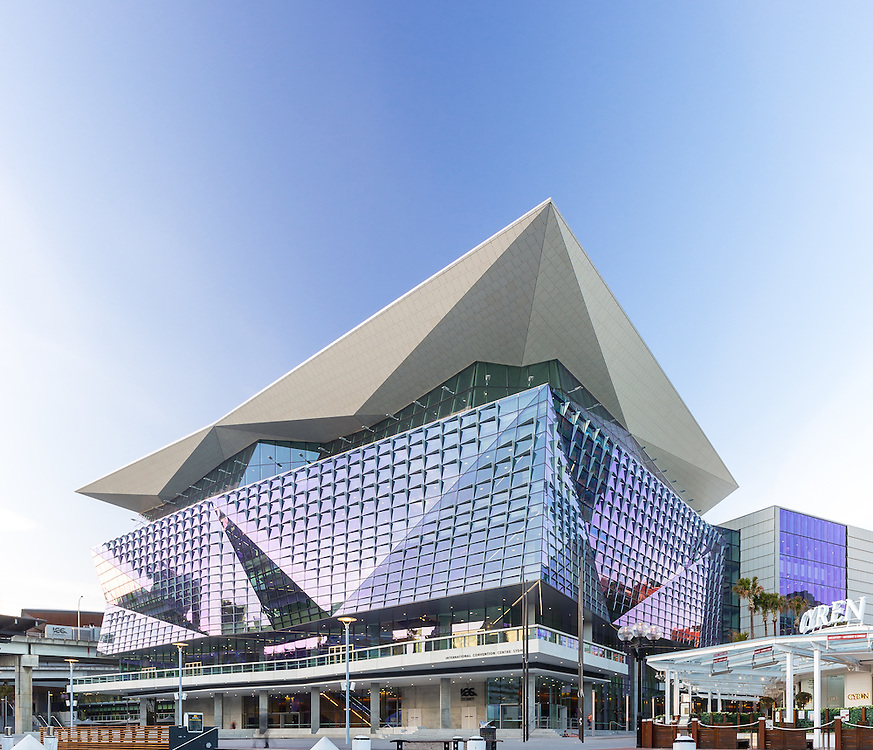 international convention centre sydney.  designed by HASSELL + populous, built by lend lease