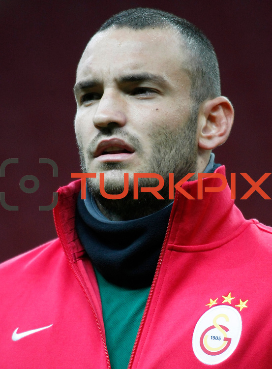 Galatasaray's goalkeeper Ufuk Ceylan during their Turkey Cup matchday 3 soccer match Galatasaray between AdanaDemirspor at the Turk Telekom Arena at Aslantepe in Istanbul Turkey on Tuesday 10 January 2012. Photo by TURKPIX