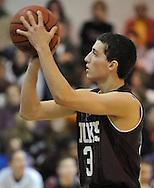 Wellington at Brookside high school boys varsity basketball on January 13, 2012.