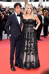 Tiziana Rocca, Giulio Base attending the opening ceremony and premiere of The Dead Don't Die, during the 72nd Cannes Film Festival.