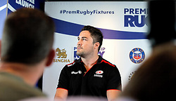 Brad Barritt of Saracens speaks at the Aviva Premiership fixture launch - Mandatory by-line: Robbie Stephenson/JMP - 07/07/2016 - RUGBY - BT Tower - London, United Kingdom  - Aviva Premiership Fixture Launch