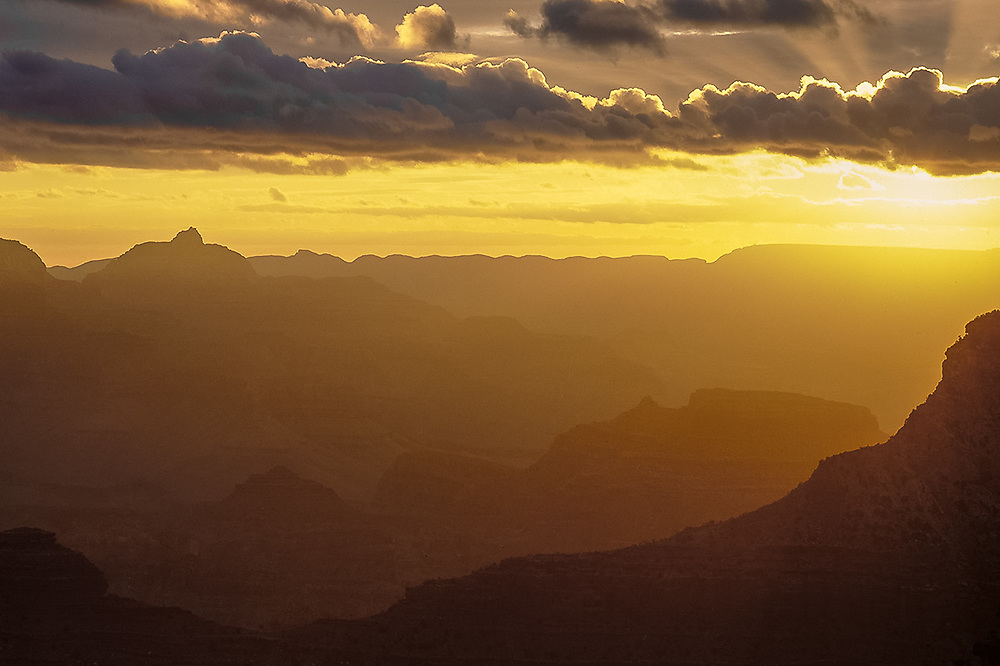 Sunrise, South Rim, Grand Canyon, Arizona, USA
