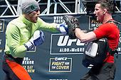 UFC194 workout