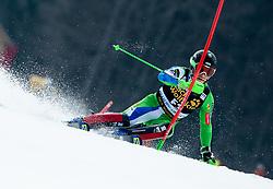 Forerunner Kristof Fabjan of Slovenia during Audi FIS Alpine Ski World Cup Men's Slalom 58th Vitranc Cup 2019 on March 10, 2019 in Podkoren, Kranjska Gora, Slovenia. Photo by Matic Ritonja / Sportida