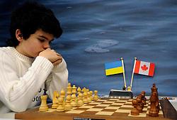 17-01-2011 SCHAKEN: TATA STEEL CHESS TOURNAMENT: WIJK AAN ZEE  <br /> Ilya Nyzhnyk UKR the youngest grandmaster of this chess tournament<br /> ©2010-WWW.FOTOHOOGENDOORN.NL