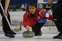 Curling<br /> EM 2009 Aberdeen<br /> 11.12.2009<br /> Foto: EQ Images/Digitalsport<br /> NORWAY ONLY<br /> <br /> Skip Thomas Ulsrud (NOR)