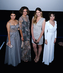 Edinburgh International Film Festival 2019<br /> <br /> H0us3 (International Premiere)<br /> <br /> Stars arrive on the red carpet for the international premiere<br /> <br /> Pictured: Cristina Raya, Miriam Tortosa, Mariona Tena and Anna Bertran<br /> <br /> Alex Todd | Edinburgh Elite media
