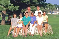 Eda, Alaina, Marilee, June, Regina &  Carla (F) Keith & Marty (R)
