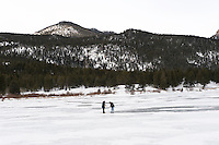 Winter Under Ice Dissolved Oxygen Level Measurement at Lilly Lake, Rocky Mountain National Park, Colorado. Image taken with a Nikon D3 and 24-70 mm f/2.8 lens (ISO 200, 70 mm, f/11, 1/125 sec)