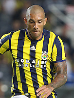 UEFA Europa league Playoff first leg match between Fenerbahce and Grasshoppers at Ulker Stadium in Istanbul on August 18 , 2016.<br /> Final Score : Fenerbahce 3 - Grasshoppers 0<br /> Pictured:  Jose Fernandao of Fenerbahce.