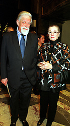 The EARL & COUNTESS OF HAREWOOD at a concert in London on 7th December 1999.MZU 12