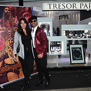 Holly Halkes, Naeem Mahmood is a actor arrives at Tresor Paris In2ruders - launch at Tresor Paris, 7 Greville Street, Hatton Garden, London, UK 13th September 2018.