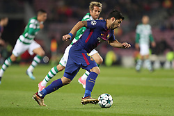 December 5, 2017 - Barcelona, Catalonia, Spain - LUIS SUAREZ of FC Barcelona during the UEFA Champions League, Group D football match between FC Barcelona and Sporting CP on December 5, 2017 at Camp Nou stadium in Barcelona, Spain. (Credit Image: © Manuel Blondeau via ZUMA Wire)