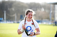 Caption Template Rugby Union - 2021 Women Six Nations - Pool A - England vs Scotland - Castle Park, Doncaster<br /> <br /> Poppy Cleall of England at Castle Park <br /> <br /> Credit COLORSPORT/LYNNE CAMERON