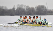2017 Boat Race Trials<br /> <br /> Womens Trial VIII's for 72nd Women's University Boat Race, sponsored by Newton,held on the Championship Course from Putney to Mortlake, Monday 12 December 2016.<br /> <br /> CUWBC Trial VIII's between NEEDS on Surrey in the Yellow Boat and HALLAM on Middlesex in the White Boat<br /> <br /> HALLAM, Bow, Brittany Preston, 2, Fanny Belais, 3, Ashton Brown, 4, Kirsten van Fossen, 5, Lucy Pike, 6, Melissa Wilson, 7, Holly Hill, Stroke, Alice White, Cox, Matthew Holland.<br /> <br /> NEEDS Bow, Tricia Smith, 2, Emma Andrews, 3, Paula Wulff, 4, Oonagh Cousins, 5, Claire Lamb, 6, Anna Dawson, 7, Myriam Goudet, Stroke, Imogen Grant, Cox, Evie Lindsay.