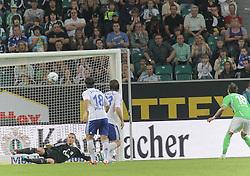 11.09.2011,Volkswagen Arena, Wolfsburg, GER, 1.FBL,VfL Wolfsburg vs FC Schalke 04, im Bild  .  Mandzukic zum 2:1.// during the match from GER, 1.FBL, VfL Wolfsburg vs FC Bayern Muenchen on 2011/09/11, Volkswagen Arena, Wolfsburg, Germany..EXPA Pictures © 2011, PhotoCredit: EXPA/ nph/  Rust       ****** out of GER / CRO  / BEL ******