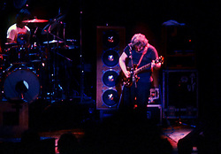 Jerry Garcia of The Grateful Dead performing at the Merriweather Post Pavillion, Columbia, MD on 20 June 1983