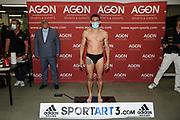 """BOXEN: AGON Boxgala, Wiegen, Berlin, 27.08.2020<br /> Thomas Piccirillo (GER) - Vincenzo """"Il Capo"""" Gualtieri (GER(<br /> © Torsten Helmke"""