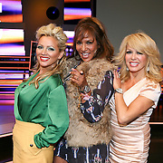 NLD/Hilversum/20110824 - Najaarspresentatie RTL 2011 / 2012, Tatjana Simic, Patty Brard en Patricia Paay