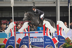 Ellermann Hanno (EST) - Elton John Tn <br /> Final 5 years<br /> FEI World Breeding Jumping Championships for Young Horses - Lanaken 2014<br /> © Dirk Caremans