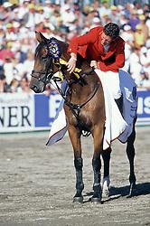 Beerbaum Ludger - Ratina Z<br /> European Championship Mannheim 1999<br /> Photo © Dirk caremans