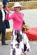 De koninklijke familie is in Zwolle voor de viering van Koningsdag. /// The royal family is in Zwolle for the celebration of King's Day.<br /> <br /> Op de foto / On the photo:  Koningin Maxima / Queen Maxima