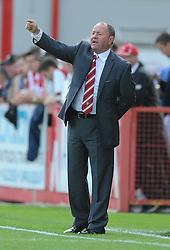 Cheltenham Town manager, Gary Johnson - Mandatory by-line: Dougie Allward/JMP - 25/07/2015 - SPORT - FOOTBALL - Cheltenham Town,England - Whaddon Road - Cheltenham Town v Bristol Rovers - Pre-Season Friendly