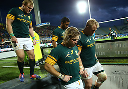 November 19, 2016 - Rome, Italy - The delusion of South Africa at the end of the match  during the international match between Italy v South Africa at Stadio Olimpico on November 19, 2016 in Rome, Italy. (Credit Image: © Matteo Ciambelli/NurPhoto via ZUMA Press)