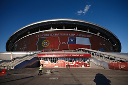 June 28, 2017 - Vista geral externa da Arena Kazan antes de partida entre Portugal x Chile válida pela semifinal da Copa das Confederações 2017, nesta quarta-feira (28), realizada na Arena Kazan, em Kazan, na Rússia. (Credit Image: © Marcelo Machado De Melo/Fotoarena via ZUMA Press)