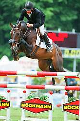, Warendorf - Bundeschampionate 31.08. - 03.09.2000, Quigolo - Grom, Richard
