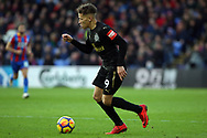 Dwight Gayle of Newcastle United in action. Premier League match, Crystal Palace v Newcastle Uutd at Selhurst Park in London on Sunday 4th February 2018. pic by Steffan Bowen, Andrew Orchard sports photography.