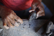 Itinga_MG, Brasil.<br /> <br /> Artesanato em Itinga, Minas Gerais.<br /> <br /> Craft in Itinga, Minas Gerais.<br /> <br /> Foto: LEO DRUMOND / NITRO