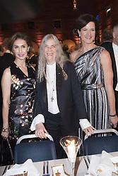 Azita Raji, US ambassador, Patti Smith, Anna Kinberg Batra <br /> <br />  <br /> <br />  beim Nobelbankett 2016 im Rathaus in Stockholm / 101216 <br /> <br /> <br /> <br /> ***The Nobel banquet, Stockholm City Hall, December 10th, 2016***
