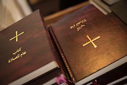 1 March 2020, Bethlehem: Sunday service in the Evangelical Lutheran Christmas Church in Bethlehem.