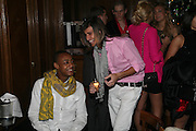 Benjamin Boateng and Ollie Locke, Tatler's Little Black Book party. Tramp. Jermyn St.  London. 7 November 2007. -DO NOT ARCHIVE-© Copyright Photograph by Dafydd Jones. 248 Clapham Rd. London SW9 0PZ. Tel 0207 820 0771. www.dafjones.com.