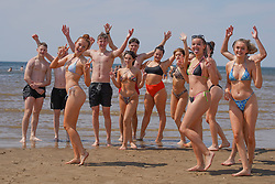 © Licensed to London News Pictures. /02/06/2021. Formby , UK. . Students make the most of the sunshine on Formby Beach, Merseyside.Photo credit: Ioannis Alexopoulos/LNP