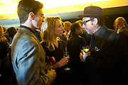AARON JOHNSON; SAM TAYLOR WOOD; ELVIS COSTELLO;, The 2009 GQ Men Of The Year Awards at The Royal Opera House. Covent Garden.  8 September 2009.