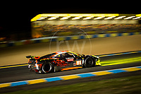 Qualifying Mok Weng Sun (MYS) / Keita Sawa (JPN) / Robert Bell (GBR) driving the LMGTE Am Clearwater Racing  Ferrari 458 Italia 24hr Le Mans 15th June 2016