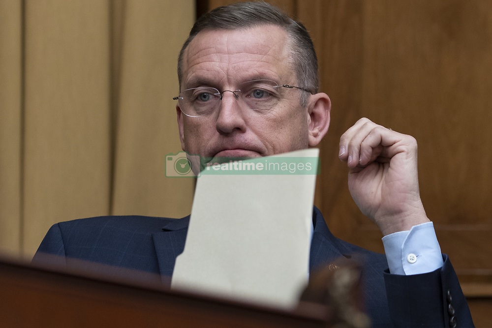 May 2, 2019 - Washington, District of Columbia, U.S. - House of Representatives Judiciary Committee Ranking Member Doug Collins, Republican of Georgia, during a hearing scheduled for Attorney General William Barr to testify about the Mueller Report before the United States House or Representatives Judiciary Committee on Capitol Hill in Washington, D.C. on May 2, 2019. Credit: Alex Edelman / CNP (Credit Image: © Alex Edelman/CNP via ZUMA Wire)